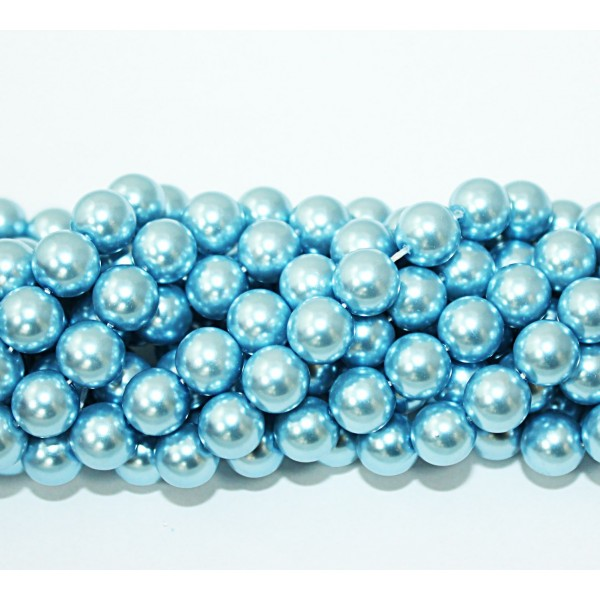 Glass beads (Electroplating) 10mm (4213)