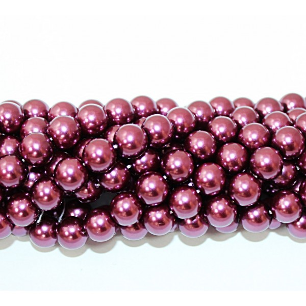 Glass beads (Electroplating) 10mm (4214)