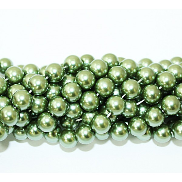 Glass beads (Electroplating) 10mm (4216)