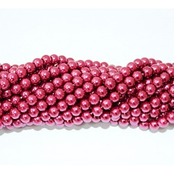 Glass beads (Electroplating) 6mm (4221)