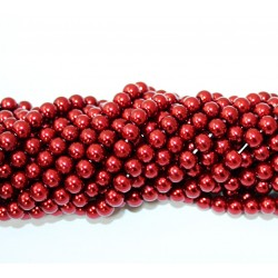 Glass beads (Electroplating) 6mm (4235)
