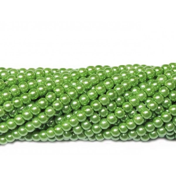 Glass beads (Electroplating) 4mm (4241)