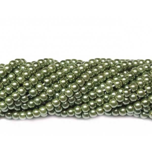 Glass beads (Electroplating) 4mm (4243)