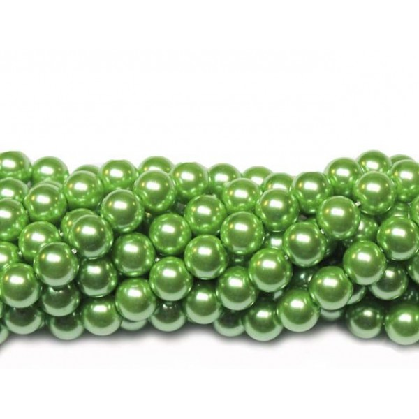 Glass beads (Electroplating) 8mm (4245)