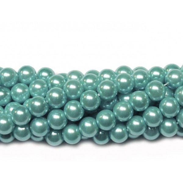 Glass beads (Electroplating) 8mm (4246)