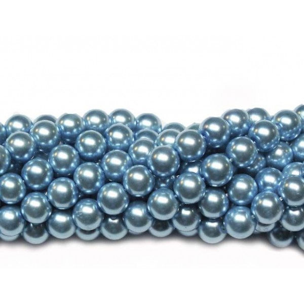 Glass beads (Electroplating) 8mm (4248)