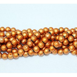 Round beads 8mm -  plastic (50021)