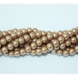 Round beads 8mm -  plastic (50023)