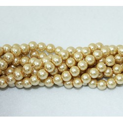 Round beads 8mm -  plastic (50024)