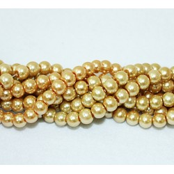 Round beads 8mm -  plastic (50026)