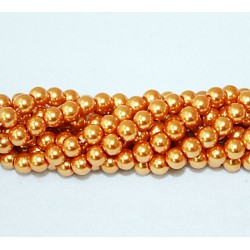 Round beads 8mm -  plastic (50027)