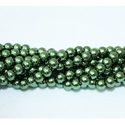 Round beads 8mm -  plastic (50031)