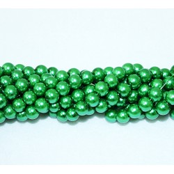Round beads 8mm -  plastic (50032)