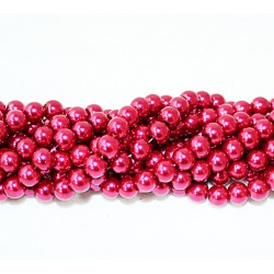Round beads 8mm -  plastic (50042)