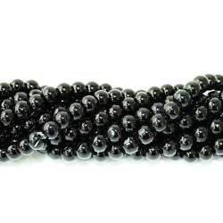 Round beads 8mm -  plastic (50046)