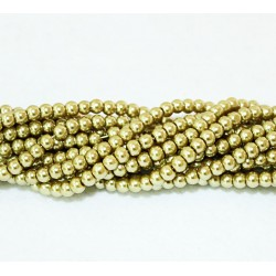 Round beads 5mm -  plastic (50102)