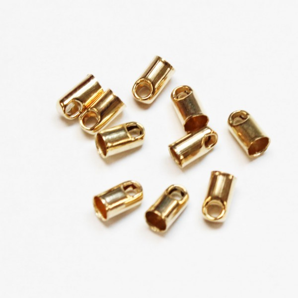 Bead caps 6x4mm 10pcs (13233)