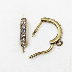 Earring fittings 17x3mm 2pcs. (F02A5000)