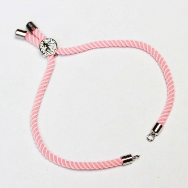 Basis for a bracelet (adjustable) max~22cm (0403)