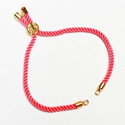 Basis for a bracelet (adjustable) max~22cm (0410)