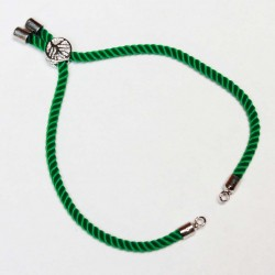 Basis for a bracelet (adjustable) max~22cm (0419)