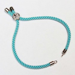 Basis for a bracelet (adjustable) max~22cm (0422)