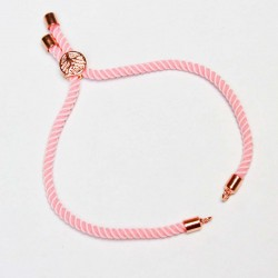 Basis for a bracelet (adjustable) max~22cm (0423)