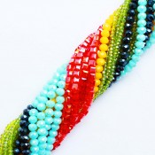 Crystal beads strands