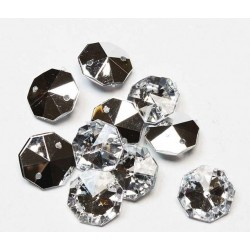 Sewing crystals 14х14mm (7701) 10 pcs.