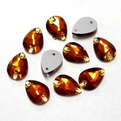 Sewing crystals 14x10x4mm 10 psc. (114000PK)